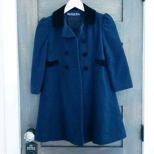Herman Kay girls wool blend jacket sz 6